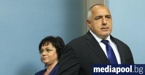 Премиерът Бойко Борисов има устойчиво по-висока подкрепа от тази за