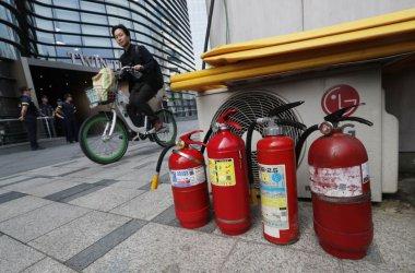 Възрастен южнокореец се самозапали до японското посолство Сеул