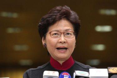 """Управляващите в Хонконг обявиха, че законопроектът за екстрадицията е """"мъртъв"""""""