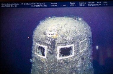 Съветска подводница изпуска радиация 100 000 пъти над нормата (Видео)
