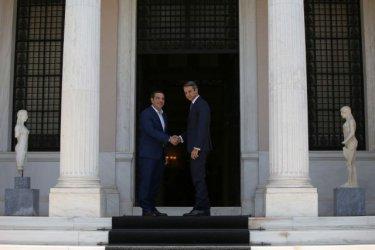 Кириакос Мицотакис положи клетва като министър-председател на Гърция