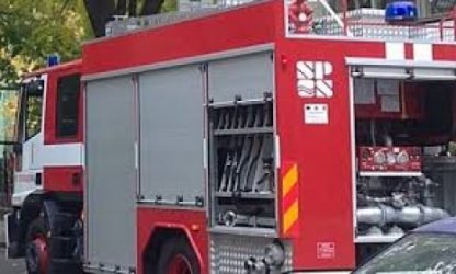 Пожар горя в бивше училище край Русе