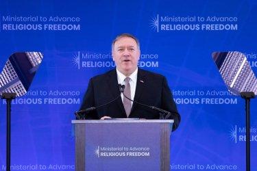 Помпейо обяви създаването на Международен алианс за религиозна свобода