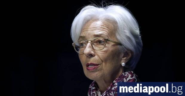 Управляващият директор на Международния валутен фонд (МВФ) Кристин Лагард обяви,