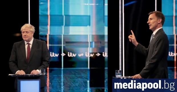 Двамата претенденти за премиерския пост на Великобритания - Борис Джонсън