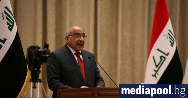 Иракският премиер Адел Абдел Махди нареди да бъде затегнат контролът