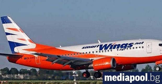 Самолет на чешката авиокомпания