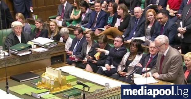 Долната камара на британския парламент одобри законови поправки в подкрепа