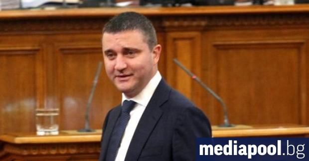 Финансовият министър Владислав Горанов се извини от парламентарната трибуна на