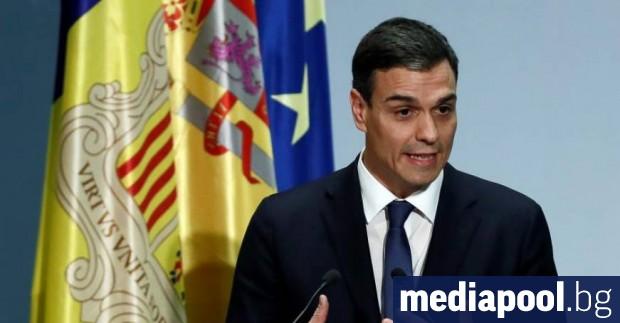 Действащият премиер на Испания Педро Санчес заяви, че не планира