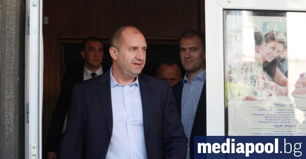 Президентът Румен Радев наложи вето върху промените в Закона за