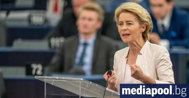 Новоизбраният председател на Европейската комисия Урсула фон дер Лайен предупреди,