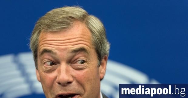 Британският политик Найджъл Фараж, върл евроскептик, се обърна с молба