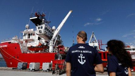 Нов кораб за спасяване на мигранти потегли от Марсилия за Либия
