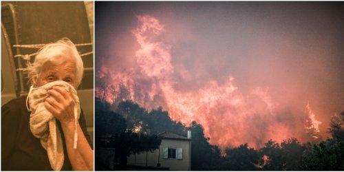 Гърция обяви извънредно положение на остров Евбея заради пожар