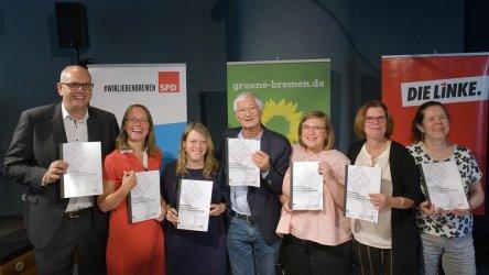 Левите партии в Бремен подписаха коалиционно споразумение
