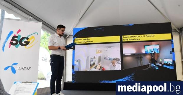 Медицински преглед, извършен от София през интернет на пациент, намиращ