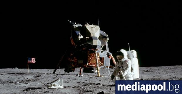 Снимка: САЩ ще пратят пак хора на Луната през 2024 г.
