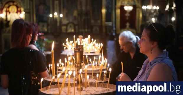 На 15 август Българската православна църква отбелязва Успение на Пресвета
