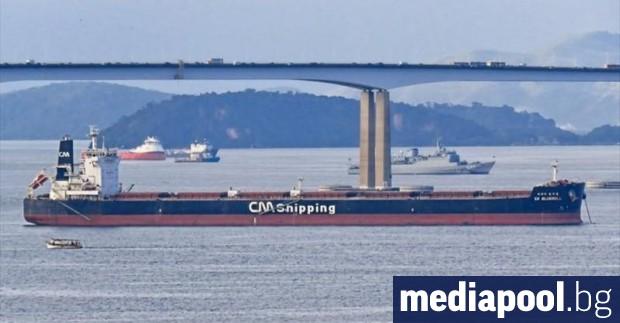 Пирати нападнаха рано тази сутрин товарен кораб под южнокорейски флаг