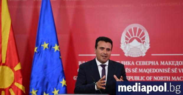Премиерът на Северна Македония Зоран Заев заяви, че не обмисля
