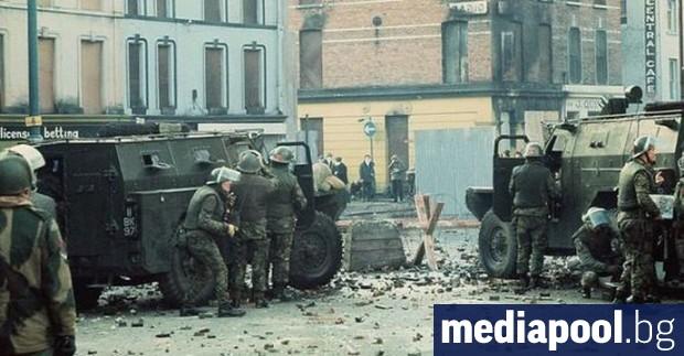 Преди 50 години Великобритания за пръв път разполага войски в