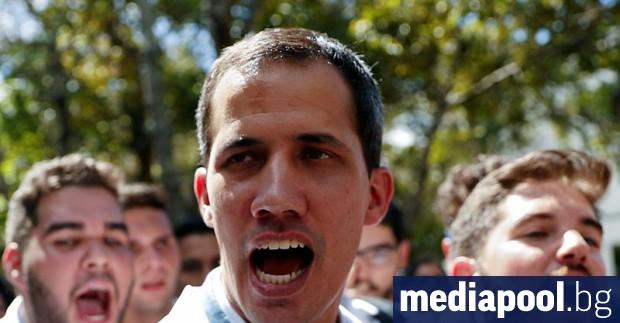 Венецуелският опозиционен лидер Хуан Гуайдо каза, че президентът Николас Мадуро