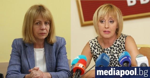 Мая Манолова води с 5% пред Йорданка Фандъкова, ако се