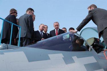 Ердоган не изключва Турция да купи руските Су-35 и Су-57 вместо Ф-35