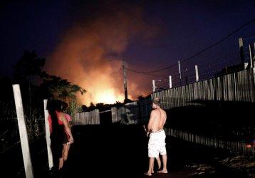 Бразилските фермери гледат спокойно на пожарите в Амазония