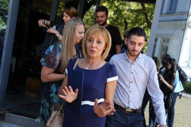 Манолова: До часове ще обявя кандидатирам ли се за кмет на София