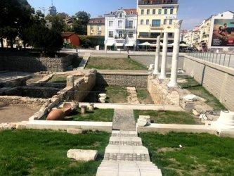 Централният площад на Пловдив вече е отворен, ремонтът почти приключи