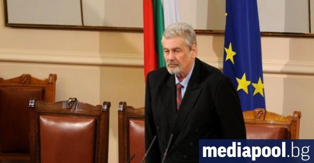 Актьорът и зам.-председател на БСП Стефан Данаилов в бил приет