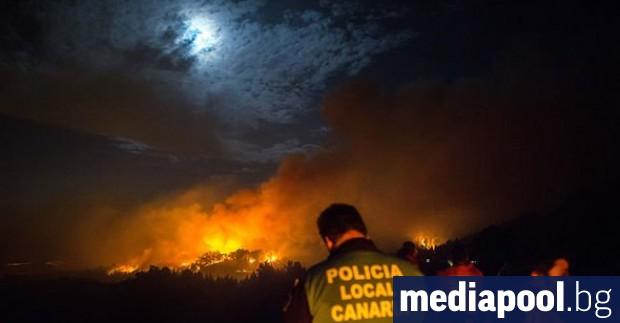 Жителите на 40 населени места на остров Гран Канария бяха
