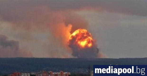 Експлозията, отнела живота на петима руски учени по време на