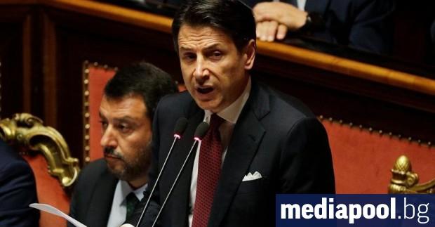 Италия остана този месец без правителство, защото Матео Салвини, лидерът