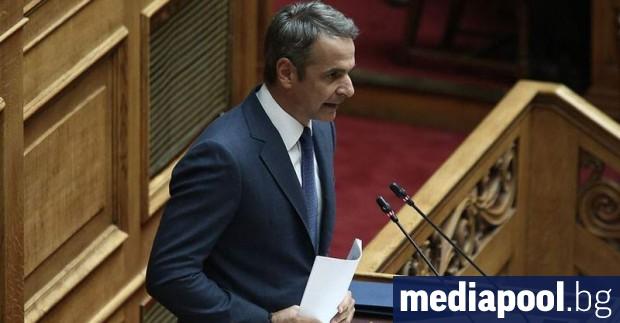 Пълната отмяна на капиталовия контрол в Гърция обяви министър-председателят Кириакос