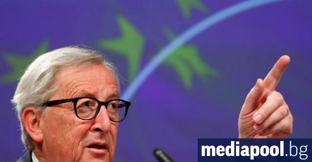 Председателят на Европейската комисия Жан-Клод Юнкер ще разговаря с британския