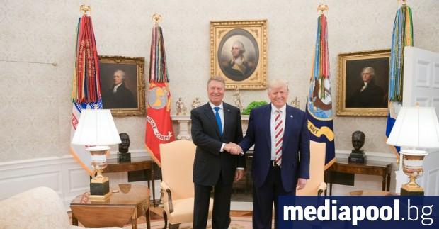 Президентите на Румъния и на САЩ - Клаус Йоханис и