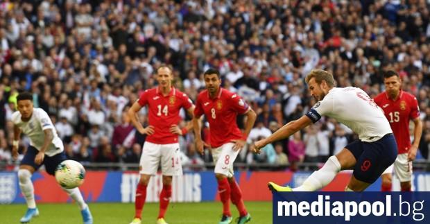 Англия разгроми България с 4:0 в мач от европейските квалификации,
