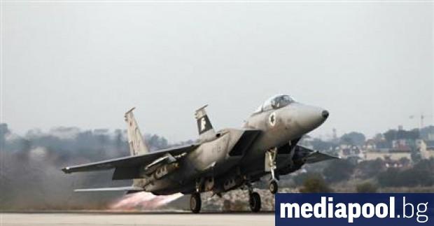 Израелски самолети нанесоха удар по ирански сили в близост до