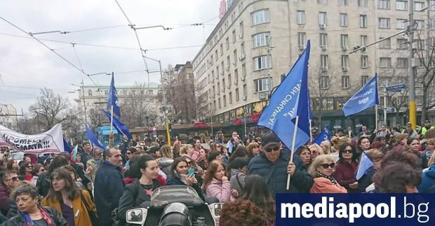 Пореден национален протест на медицинските сестри за реформи в системата