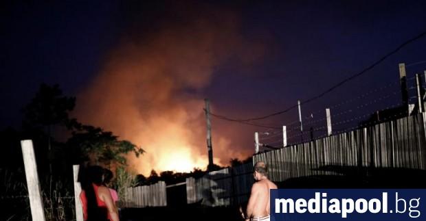Снимка: Пожарите в Амазония: Бразилският президент забрани паленето на стърнища