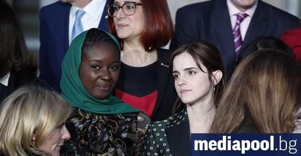Снимка: Ема Уотсън и Надя Мурад ще защитават каузата на жените пред лидерите на Г-7
