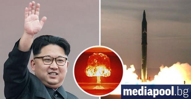 Северна Корея изстреля две ракети в морето край източния си