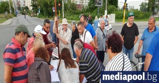 Граждани на столицата, които живеят в близост до бул.