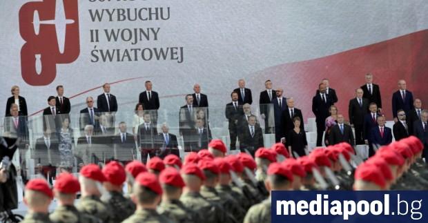 Световните лидери отбелязаха в Полша 80-годишнината от началото на Втората