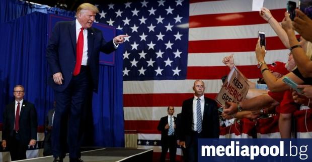 Президентът на САЩ Доналд Тръмп призова избирателите в щата Северна