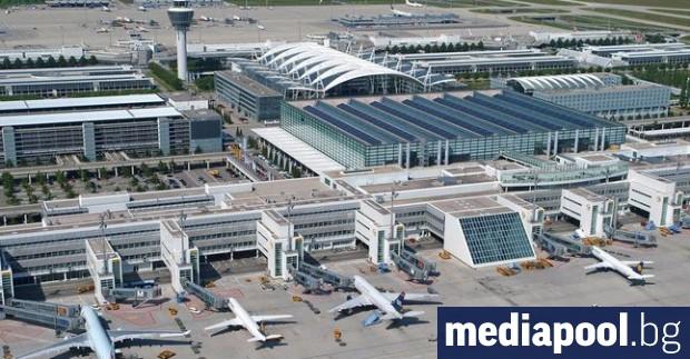 Полетите от част от Терминал 1 на летището в Мюнхен