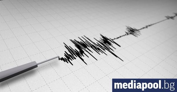 Земетресение с магнитуд 5 степен по Рихтер е регистрирано източно